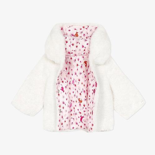 Catimini - Faux fur reversible jacket
