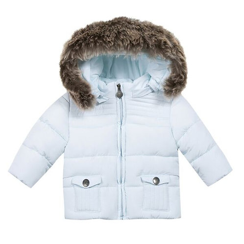 Tartine et Chocolat - Down Jacket w/fur collar