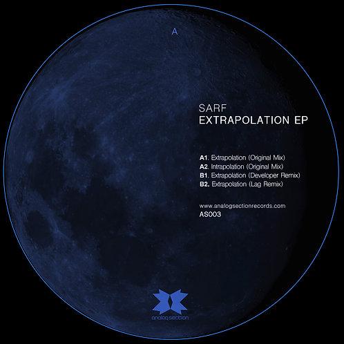 Sarf - Extrapolation EP (AS003)