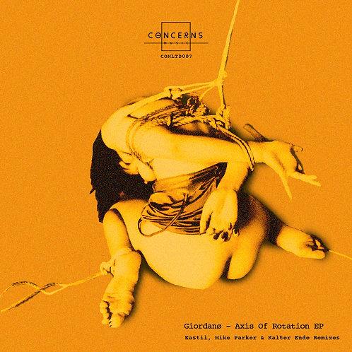 Giordanø - Axis Of Rotation EP (COMLTD007)