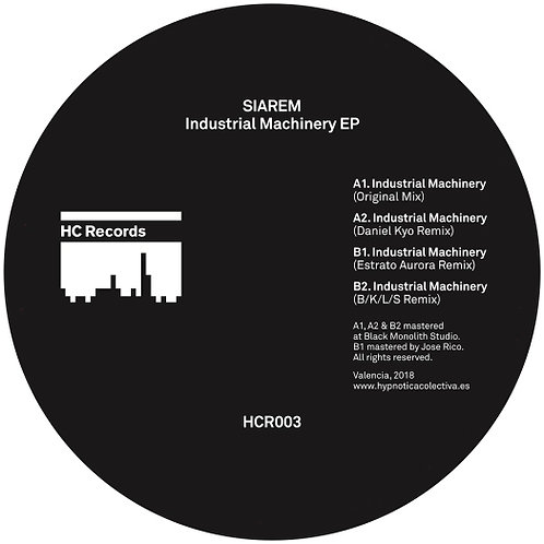 Siarem - Industrial Machinery EP (HCR003)
