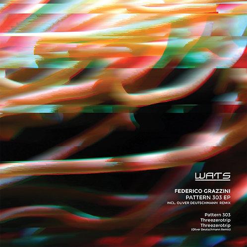 WSR006 Federico Grazzini - Pattern 303 (inc. Oliver Deutschmann Remix)
