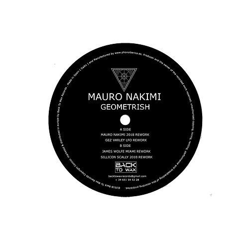 BWAX003 Mauro Nakimi - Geometrish ( Incl. Gez Varley LFO,James Wolfe, Silicon S
