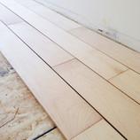 Flashback Friday: New maple hardwood floors