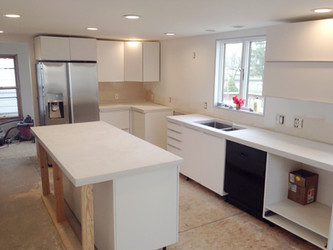Flashback Friday: Concrete kitchen countertops