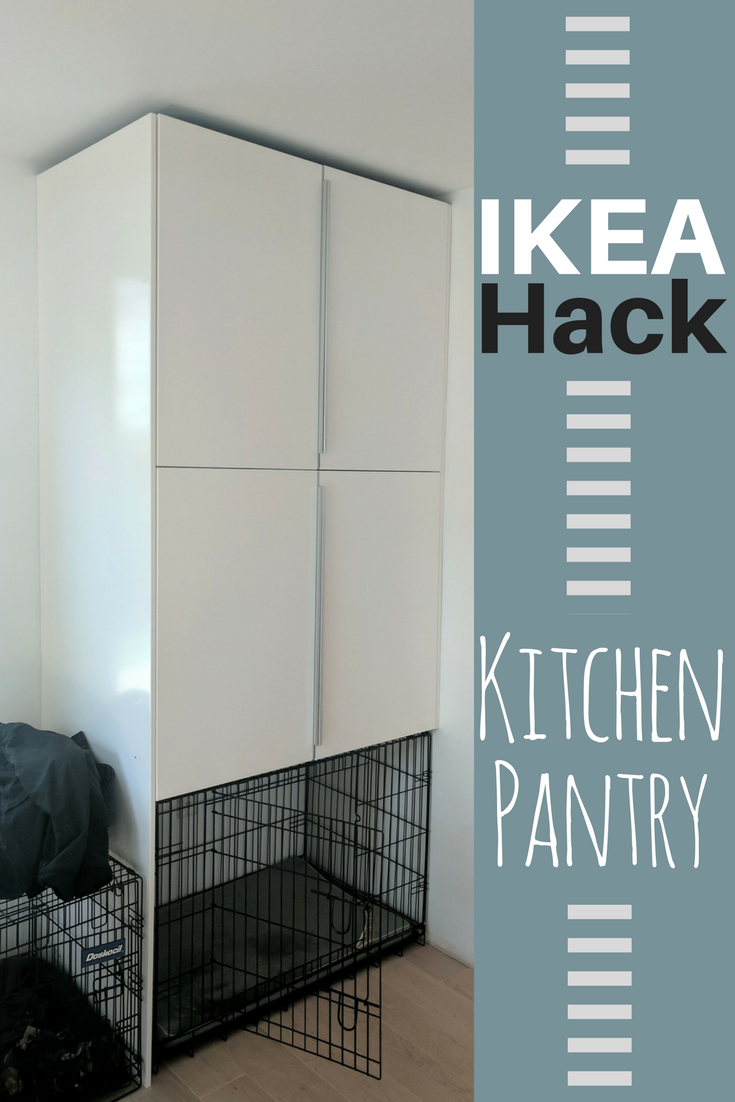IKEA Hack: Kitchen Pantry | coupleodinks