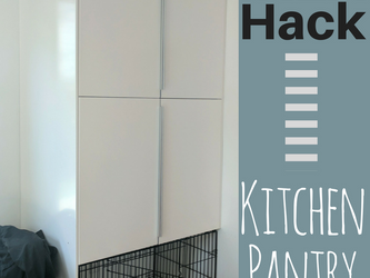 IKEA Hack: Kitchen Pantry