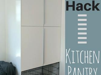 IKEA Hack: Kitchen Pantry