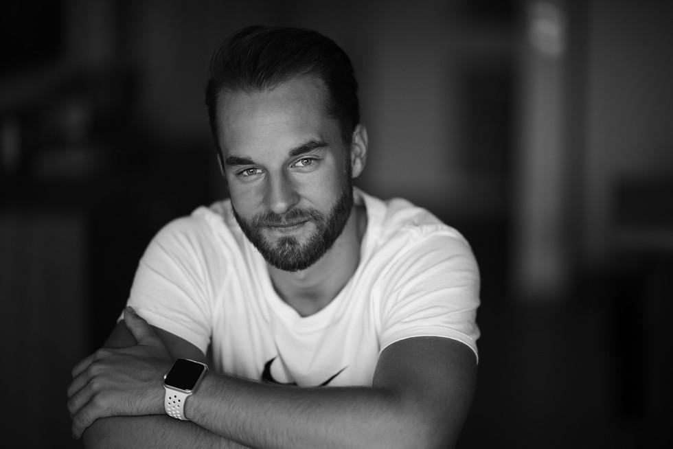 Portrait eines Mannes in Kärnten von Capmore Photography