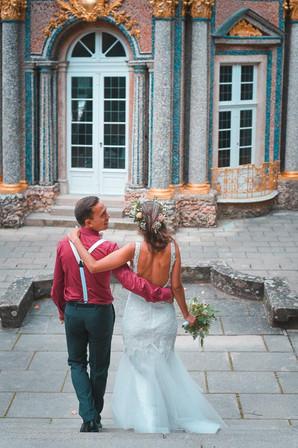 Capmore Photography: Brautpaar nach der Trauun