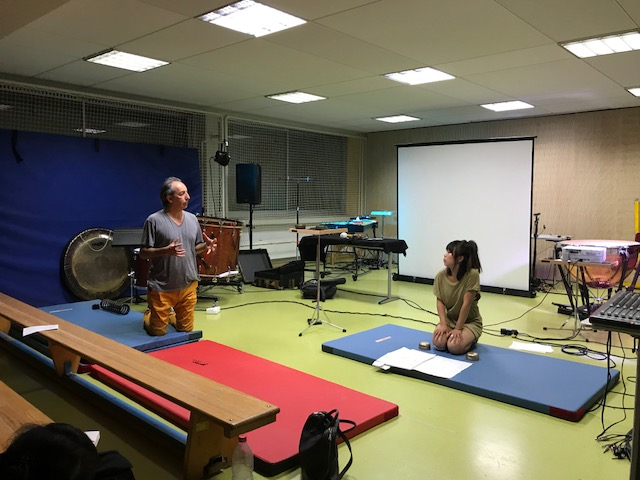 Masterclass with Pierluigi Billone