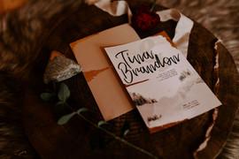 Winter Wedding Shoot Invitation