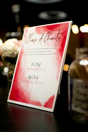 Stephanie & Chris Wedding Signage