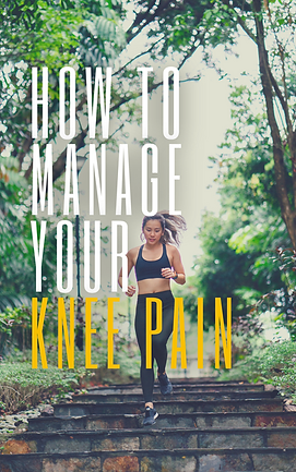 How to Manage Your KNEE PAIN front cover