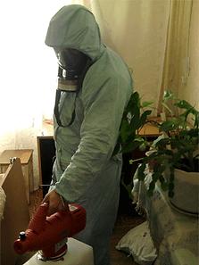 уничтожение непрятных запахов, вирусов, микробов в сургуте