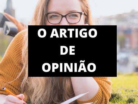 O ARTIGO DE OPINIÃO