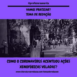 COMO O CORONAVÍRUS ACENTUOU AÇÕES XENOFÓ