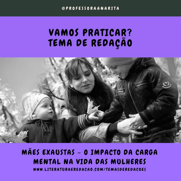 MÃES EXAUSTAS - O IMPACTO DA CARGA MENTAL NA VIDA DAS MULHERES