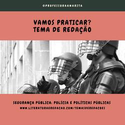 SEGURANÇA PÚBLICA_ POLÍCIA E POLÍTICAS P