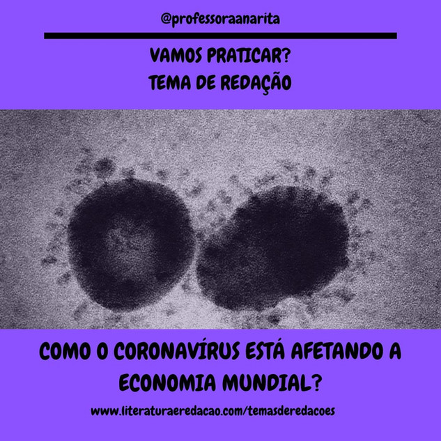 COMO O CORONAVÍRUS ESTÁ AFETANDO A ECONO