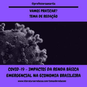COVID-19 - IMPACTOS DA RENDA BÁSICA EMER