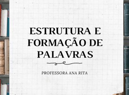 ESTRUTURA E FORMAÇÃO DE PALAVRAS