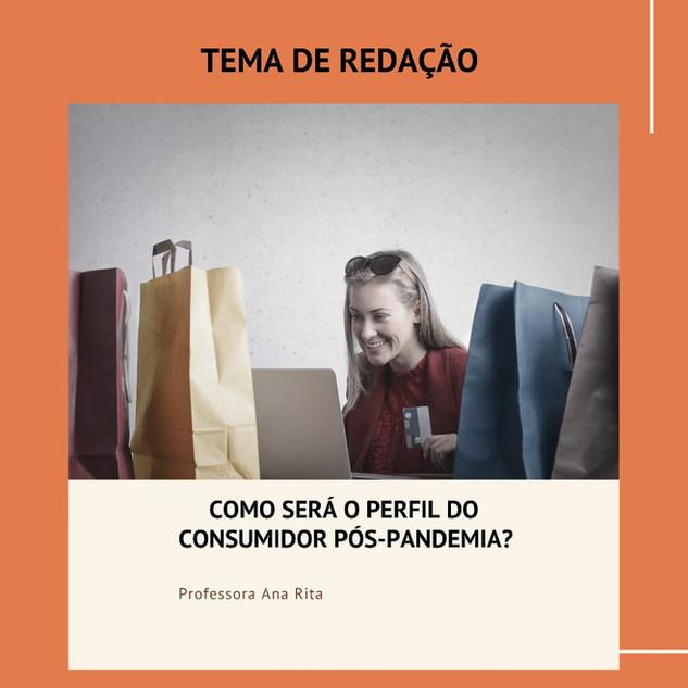 COMO SERÁ O PERFIL DO CONSUMIDOS PÓS-PAN