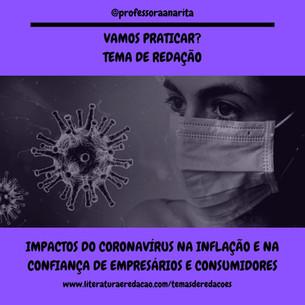 IMPACTOS DO CORONAVÍRUS NA INFLAÇÃO E NA