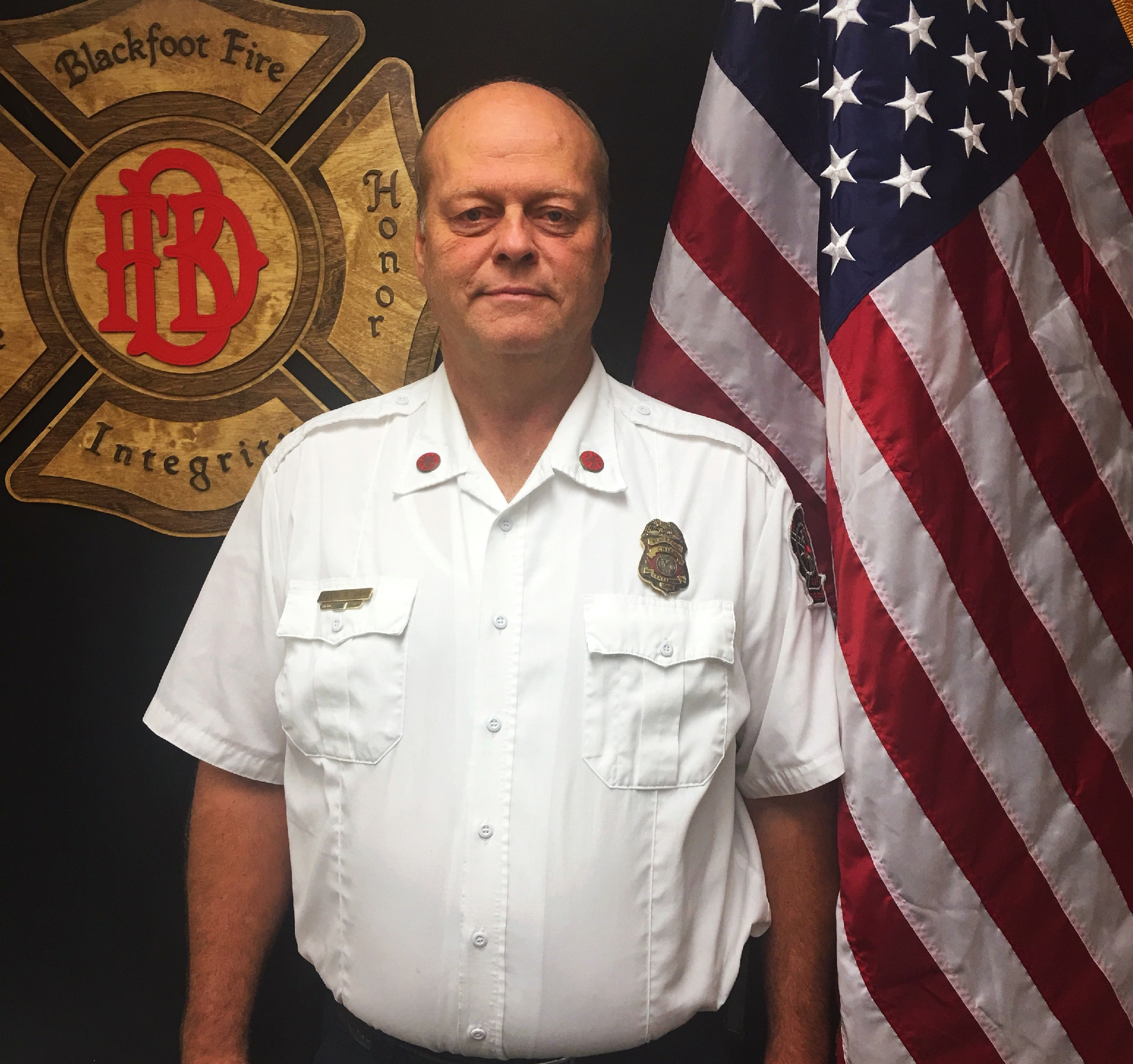 Fire Chief Kevin Gray