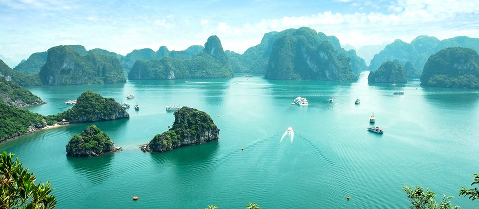 Visit Halong Bay - One of the most beautiful bays in Vietnam