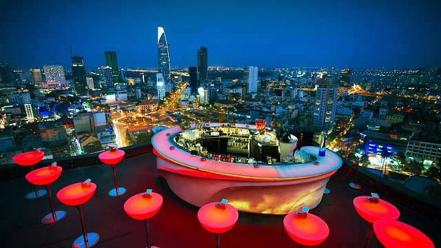 Nightlife in Saigon