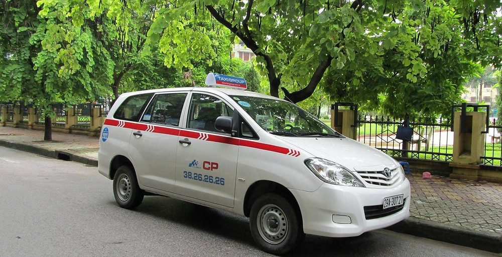 taxis in Hanoi