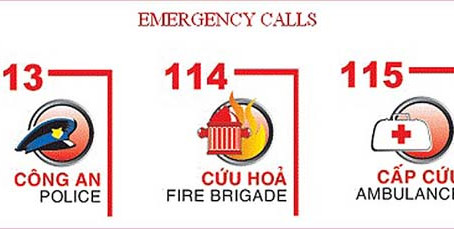 Emergency situation: who and how to call in Vietnam