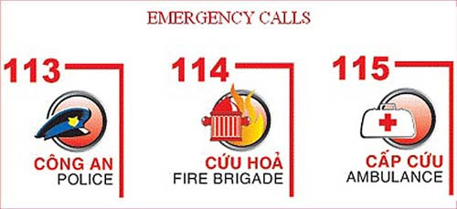 Emergency phone number