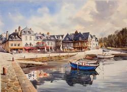 Auray, le port de St-Goustan, 54 x 74 cm