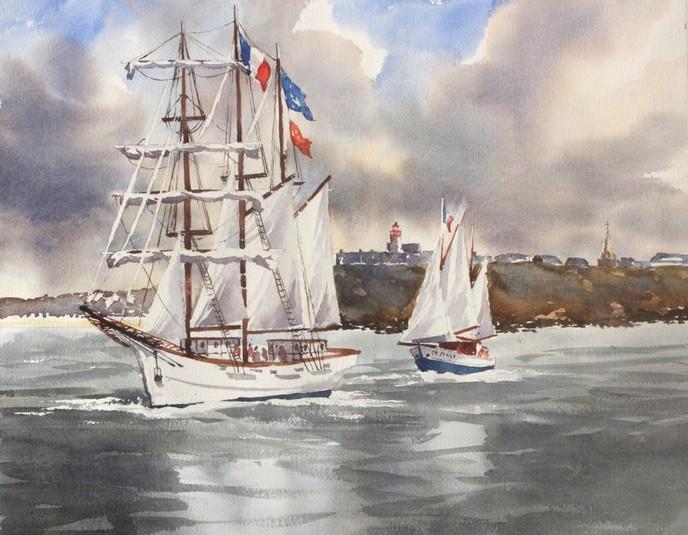 Le Marité, 38 x 48 cm
