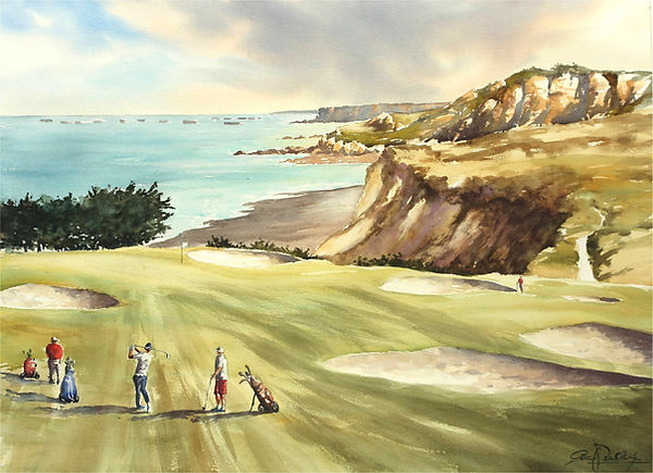 Golf Omaha Beach 1, 54 x 74 cm.jpg