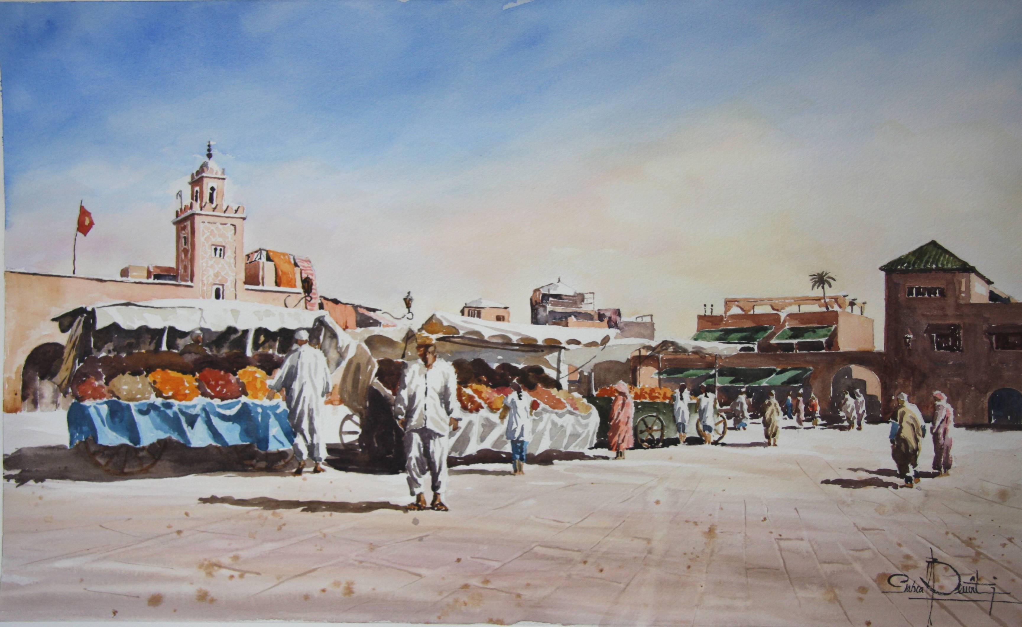 Marrakech, Place Jema El Fna 3