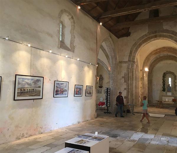 Intérieur église Port Bail