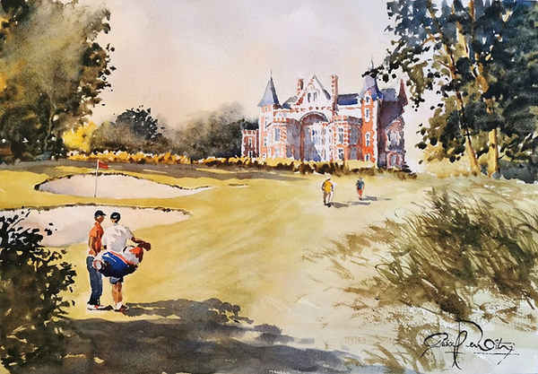 Golf Houlgate 1, 33 x 48 cm.jpg