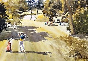 Golf Houlgate 3, 33 x 48 cm.jpg