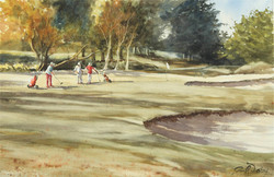 Golf Agon-Coutainville, 37 x 55 cm