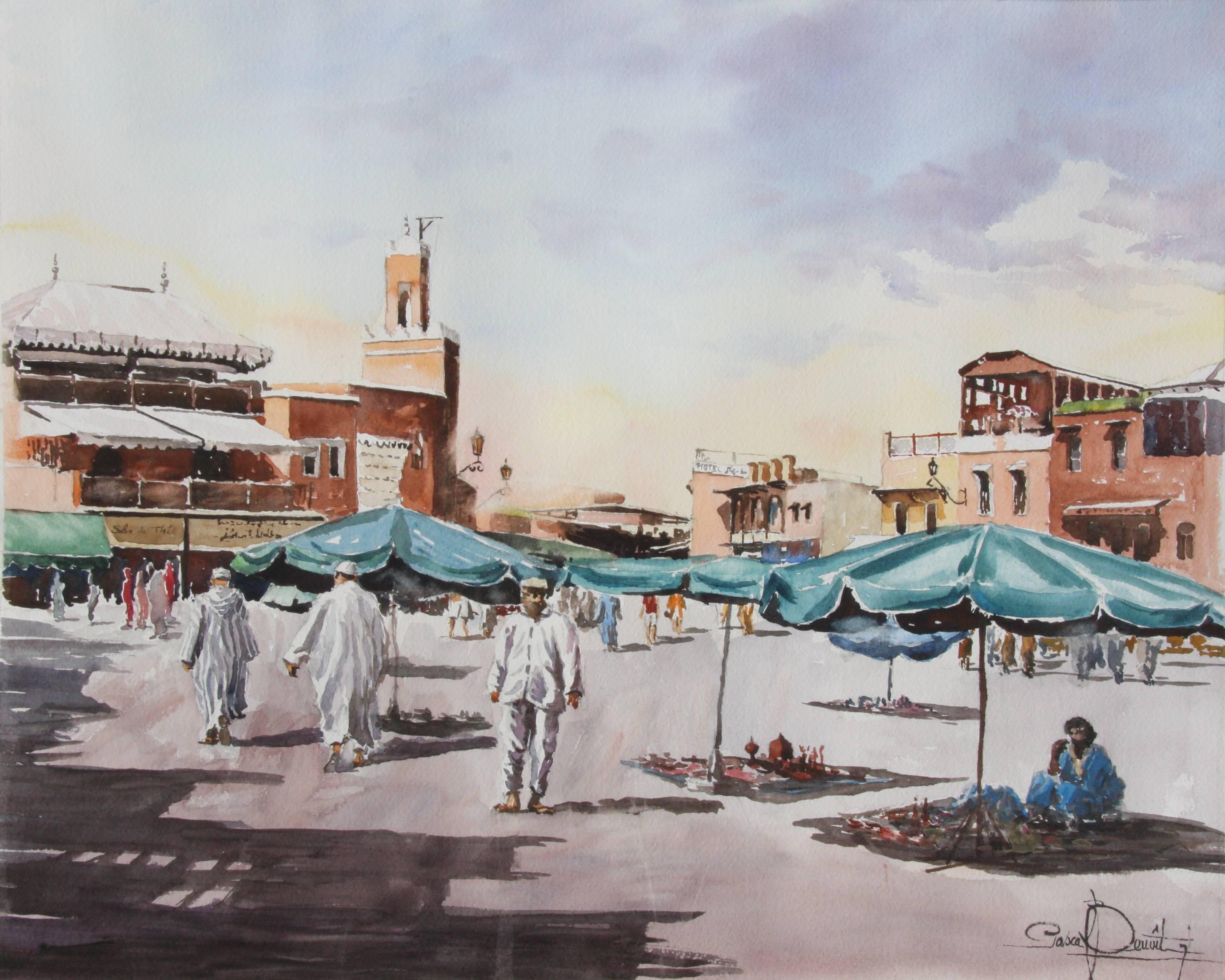Marrakech, Place Jema El Fna 1