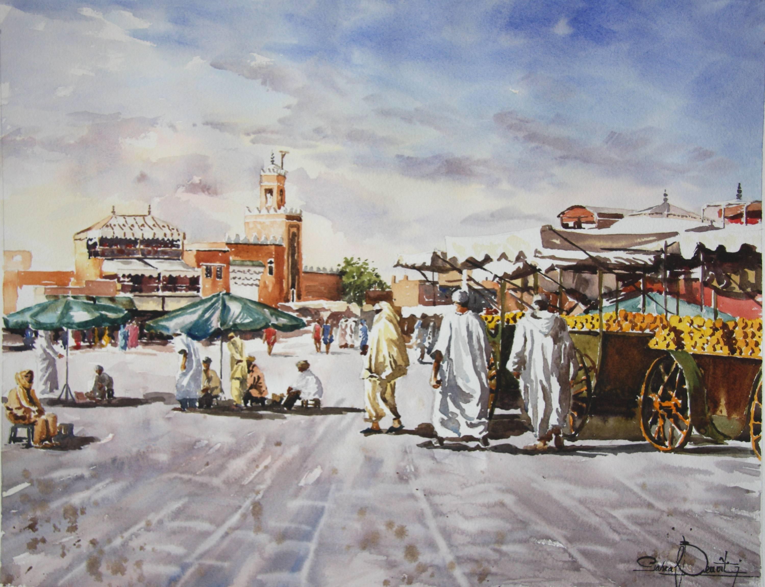 Marrakech, Place Jema El Fna 2