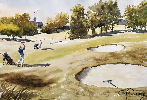 Golf Omaha Beach 2, 33 x 48 cm.jpg