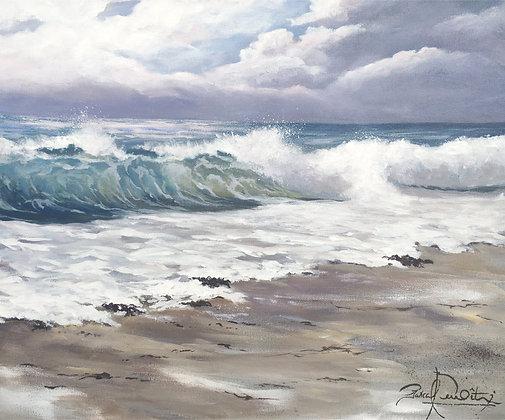 Toile - Les vagues 1