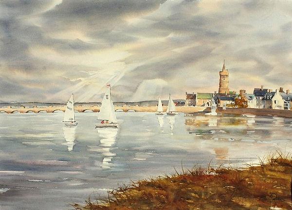 Port-Bail, 53 x 74 cm