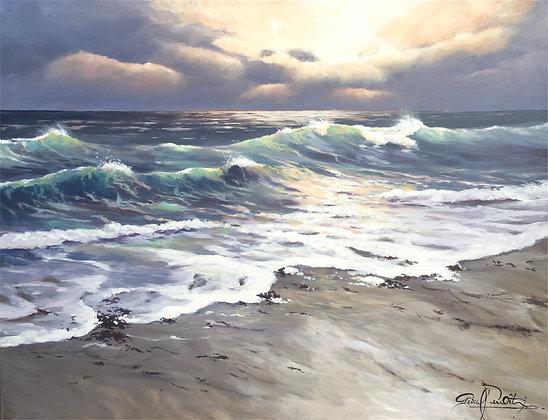 Toile - Les vagues 6