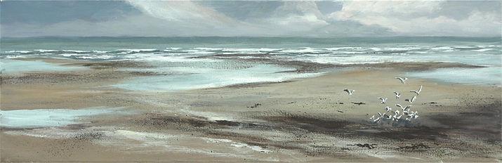 La plage, 20 x 60 cm.jpg