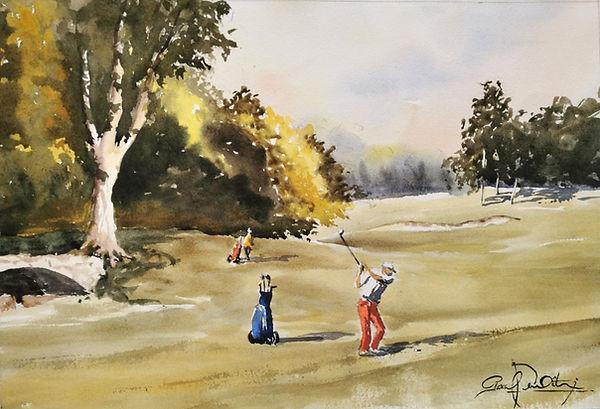 Golf Houlgate 2, 33 x 48 cm.jpg